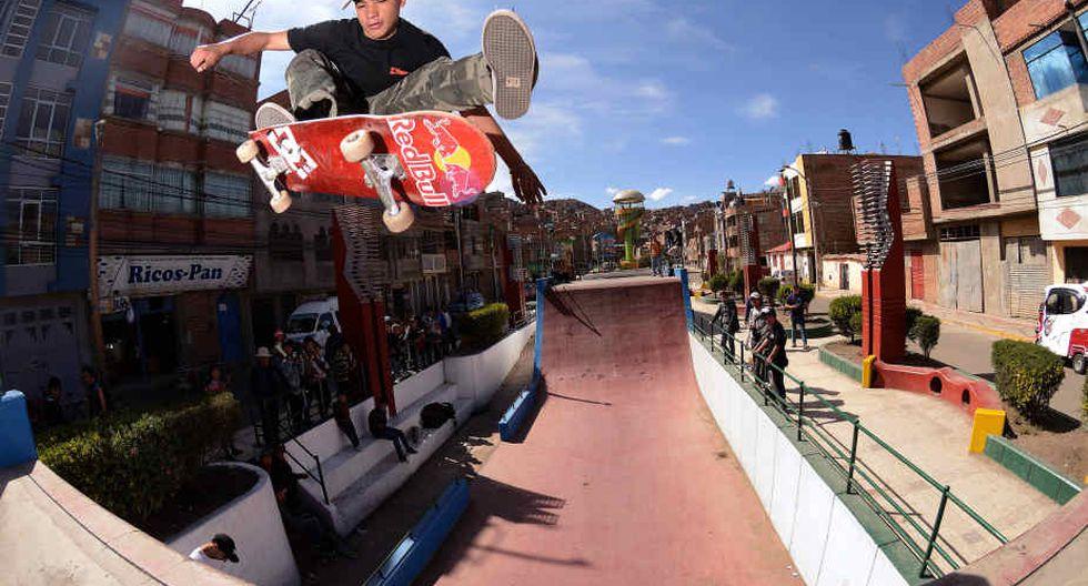 Skate: Angelo Caro sube al podio en Estados Unidos. (Red Bull)