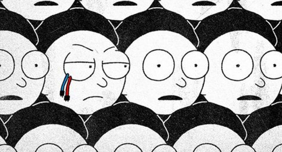 Rick and Morty 4: ¿cómo será el regreso del Morty Malvado? (Foto: Adult Swim)