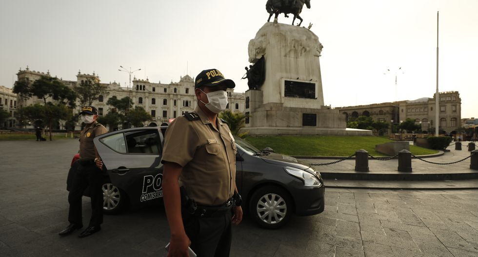 Ministro Gastón Rodríguez informa que van 82 policías fallecidos y más de 4 mil contagiados por COVID-19. (Foto: GEC)