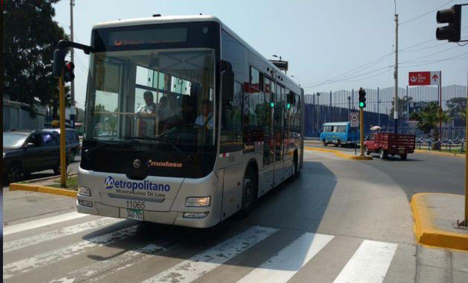 Municipalidad de Lima informó que el servicio del Metropolitano tendrá un horario especial para este 29 de junio. (Foto: GEC)