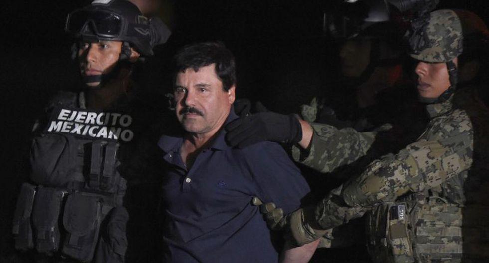 """""""El Chapo"""" Guzmán: Una vida llena de armas, drogas y persecuciones. (Foto: AFP)"""