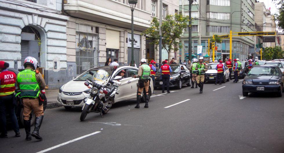 Los operativos contra el transporte informal se ejecutaron en el Rímac y Cercado de Lima. (ATU)