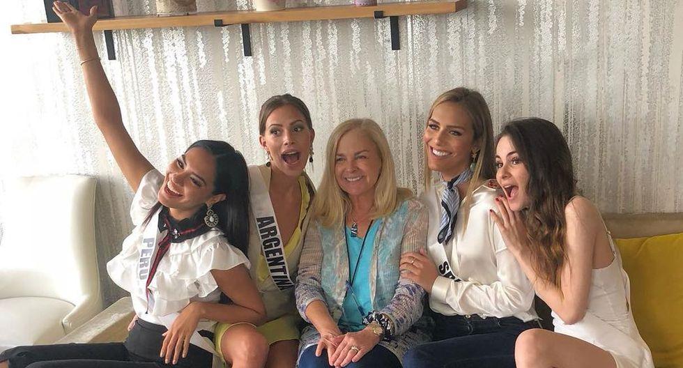 Ángela Ponce y Romina Lozano, las candidatas de Perú y España respectivamente para el Miss Universo 2018, han demostrado que tienen muy buena química desde el día que se conocieron. (Foto: @romilozano/@angelaponceofficial)