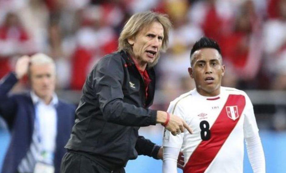 Ricardo Gareca hizo un pedido a Christian Cueva. (Foto: AFP)