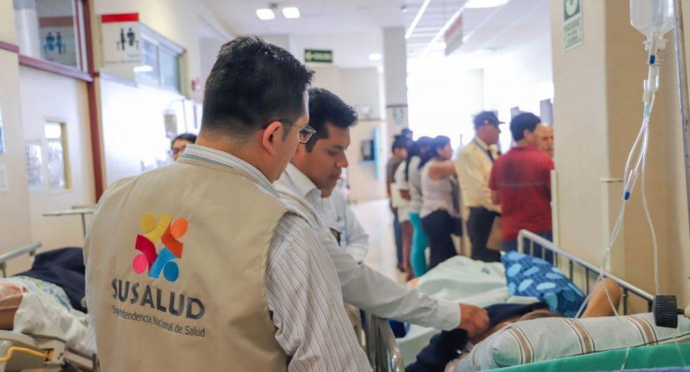 Carlos Acosta Saal, jefe de Susalud, enfatizó que toda persona en situación de emergencia médica debe ser atendida independientemente de si tiene seguro o no. (Andina)