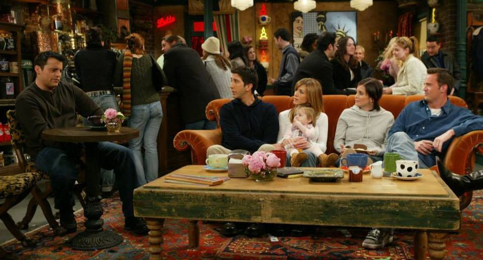 """El sofá de Central Perk de """"Friends"""" estará en varias ciudades del mundo. (Foto: @friends.tv)"""