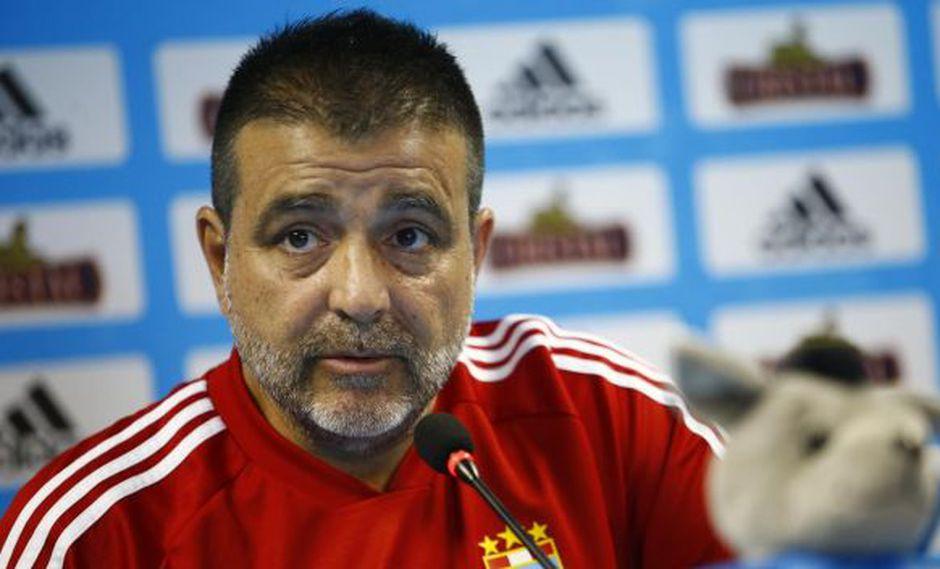 Claudio Vivas es entrenador de Sporting Cristal desde febrero pasado. (Foto: Francisco Neyra / GEC)