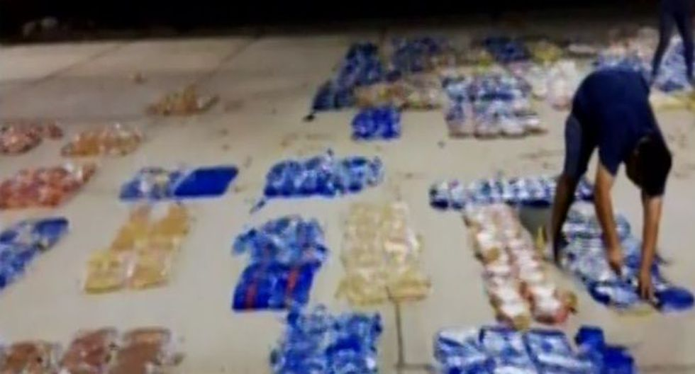 Incautan dos toneladas de cocaína y detienen a seis personas (Captura: Canal N)