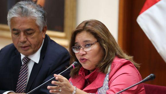 La presidenta de la Comisión de Ética, Janet Sánchez (Peruanos por el Kambio) dijo que con la recomposición de su grupo de trabajo evitará blindajes. (Foto: GEC)