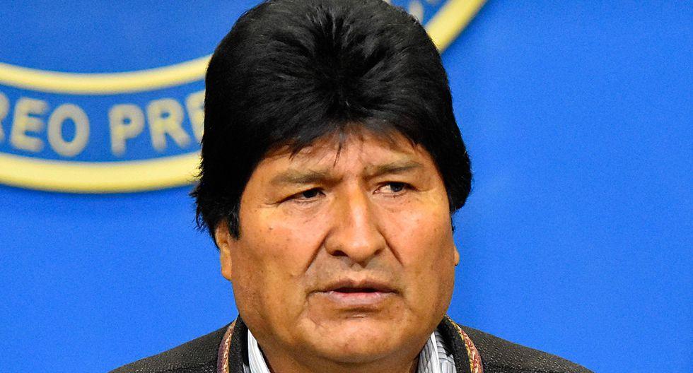 Morales renunció a la presidencia tras 13 años en el cargo. (Foto: EFE).