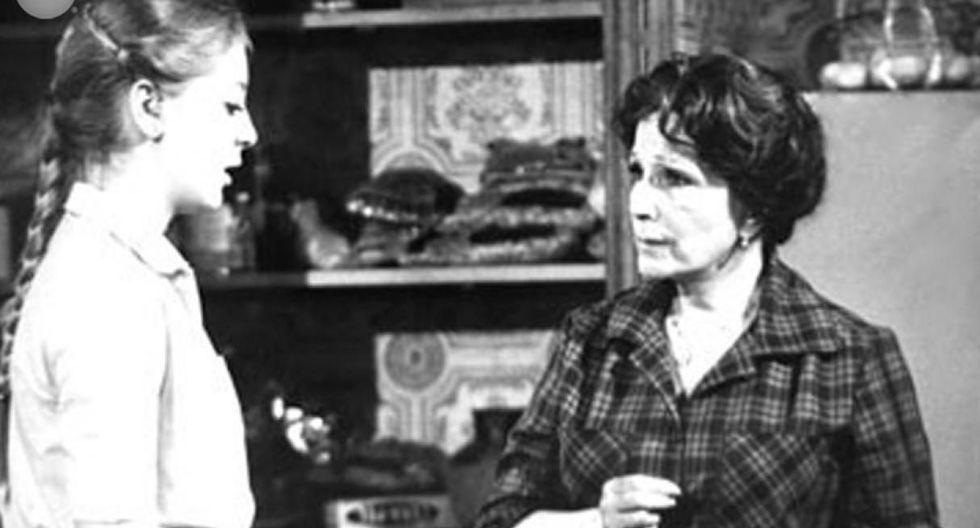 """Edith González en la telenovela """"Soledad"""". (Foto: Difusión)"""