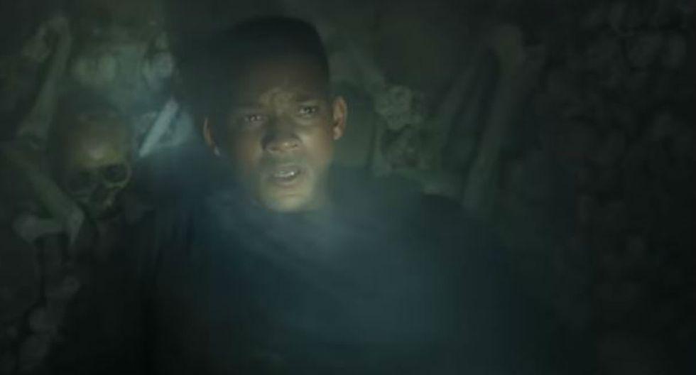 Lanzan el nuevo adelanto de la película protagonizada por Will Smith (Foto:captura YouTube)