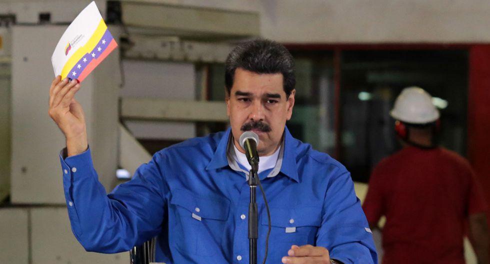 Nicolás Maduro indicó que Estados Unidos intentará sabotear las elecciones venezolanas de 2020. (Foto: AFP/Archivo)