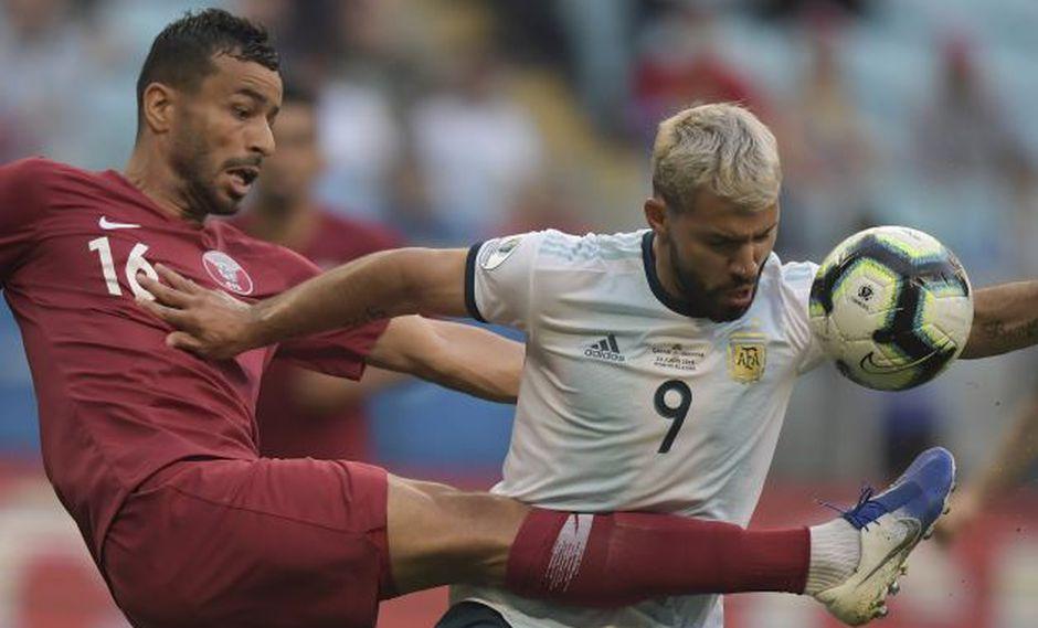 Argentina y Catar chocan por el grupo B de la Copa América. (AFP)