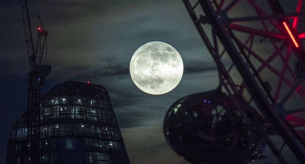 ¿Qué habrá encontrado China en la luna? (Foto: EFE)