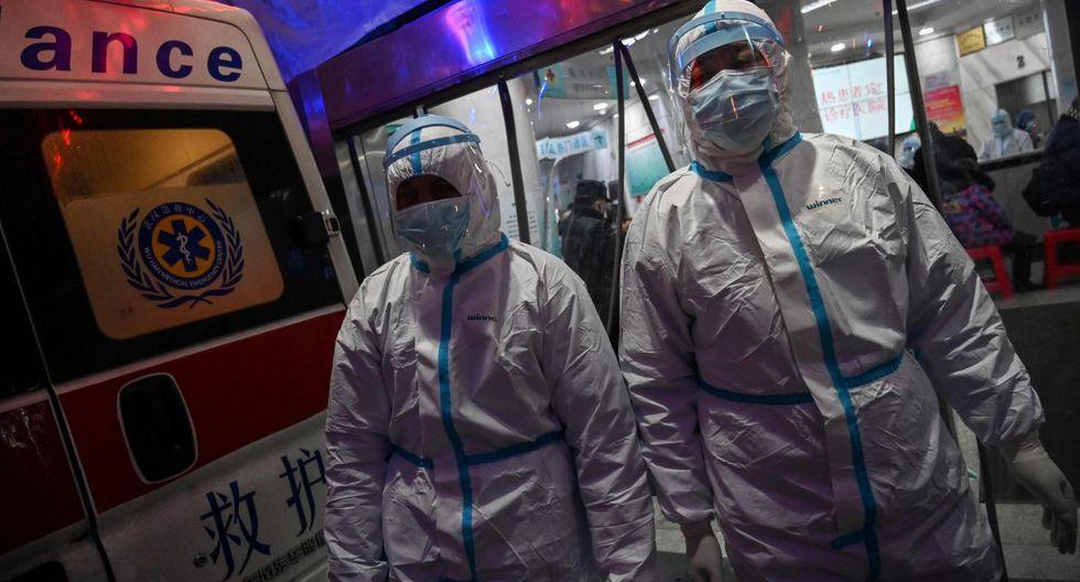 Actualmente, un total de 1.367 personas han fallecido en China continental. (AFP).