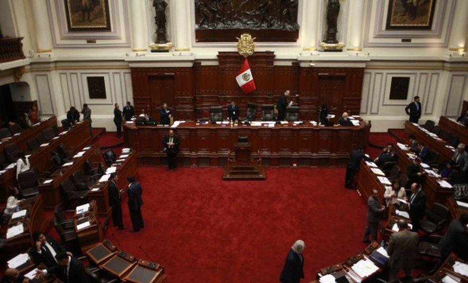 En la legislatura ampliada, también se debatirán informes de la Subcomisión de Acusaciones Constitucionales. (Foto: GEC)