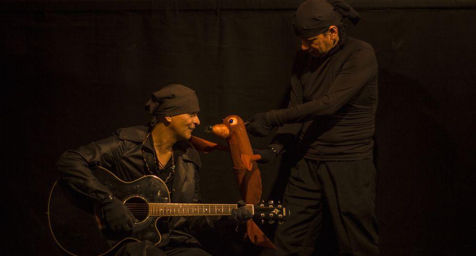 'La Mar Brava' es una obra de teatro de títeres para niños de todas las edades.
