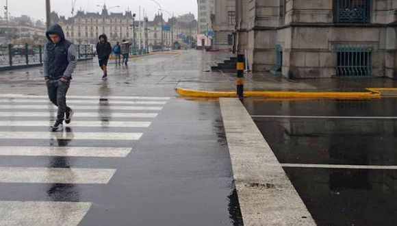 El organismo adscrito al Ministerio del Ambiente detalló que la llovizna se intensificará. (Foto: Senamhi)