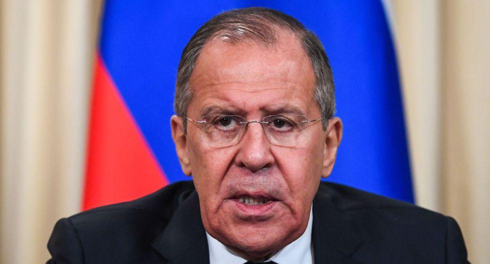 """Serguéi Lavrov indicó que Rusia está dispuesta """"a proporcionar la asistencia"""" necesaria para el diálogo. (Foto: AFP)"""