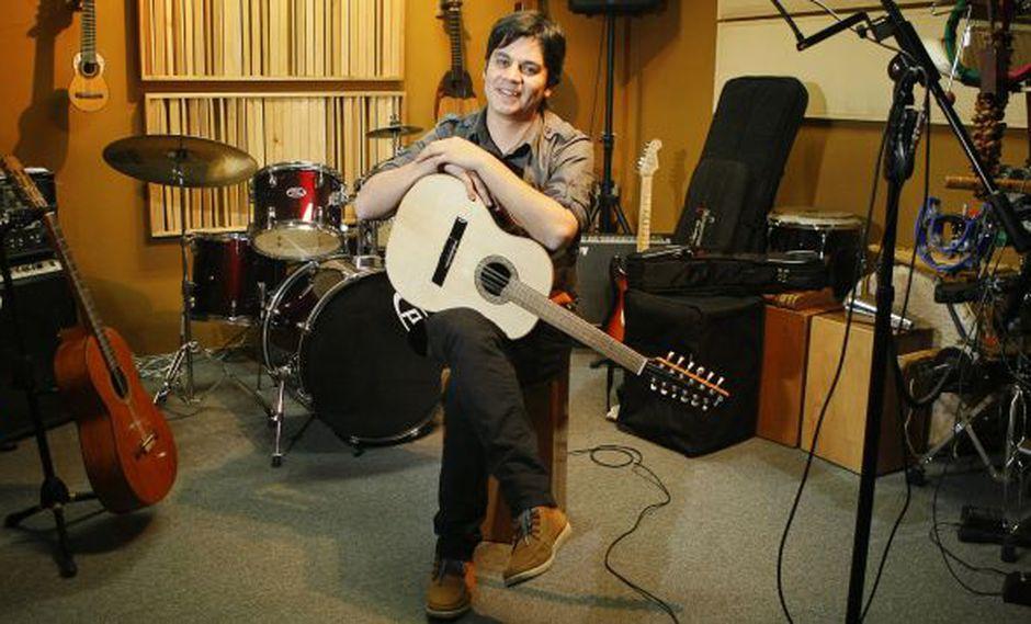 Después de cuatro años, Lucho Quequezana está terminando de grabar su nuevo disco (Foto: USI)