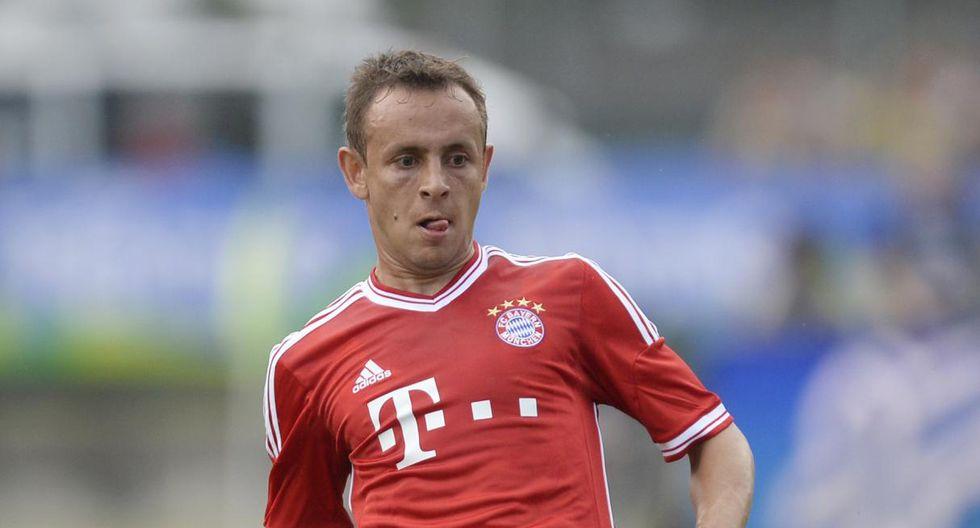Rafinha defendió a Schalke 04 y Bayern Múnich. (Foto: AFP)