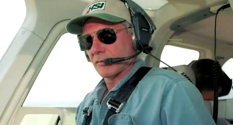 Harrison Ford también es un piloto experimentado. (Captura CBS News)