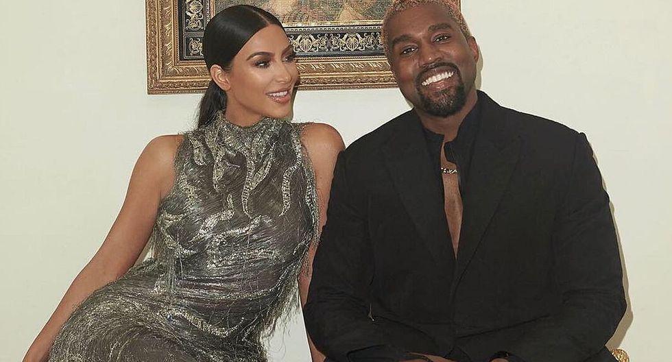 Kanye West, esposo de Kim Kardashian, ocupa el tercer lugar de la lista de la 100 celebridades mejor pagadas de la revista Forbes. (Foto: @kimkardashian)