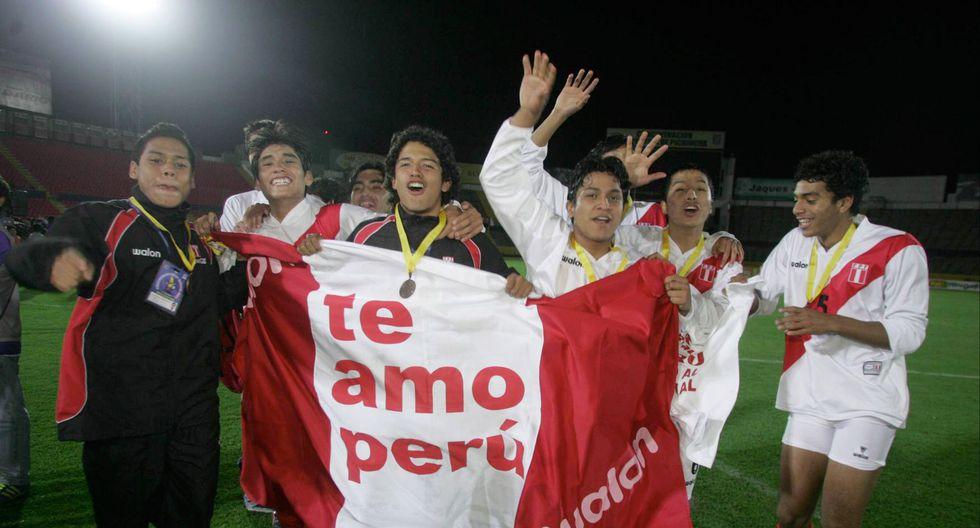 Los 'Jotitas' clasificaron al Mundial Sub 17 del 2007. (Foto: GEC)