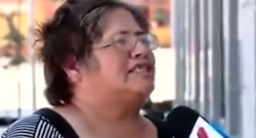 La señora chilena se viralizó en redes sociales. (Foto: Captura YouTube)