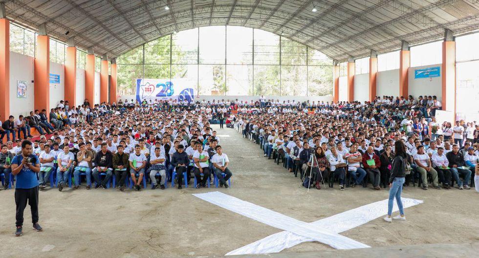 """El evento se realizó en la Institución Educativa 3720 """"Nuestra Señora de la Misericordia"""" (Ventanilla)"""