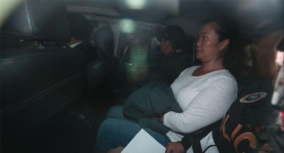 Keiko Fujimori cumple 36 meses de prisión preventiva en el penal Anexo de Mujeres de Chorrillos por el caso Odebrecht. (Foto: GEC)