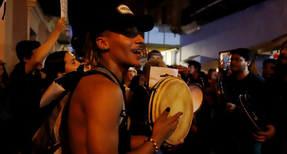 Los manifestantes llegarán hasta  La Fortaleza, sede del Ejecutivo, pese a que se encontraran con la policía. (Foto: EFE)