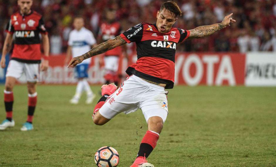 (Foto: AFP) Flamengo, recibe al Inter de Porto Alegre.