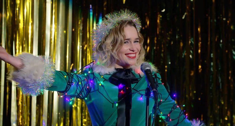 Emilia Clarke protagoniza el trailer de su nueva comedia navideña 'Last Christmas'. (Foto: Captura)
