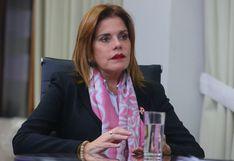 """Mercedes Araoz: """"Al presidente Vizcarra lo seguiré apoyando en lo que vea positivo"""""""
