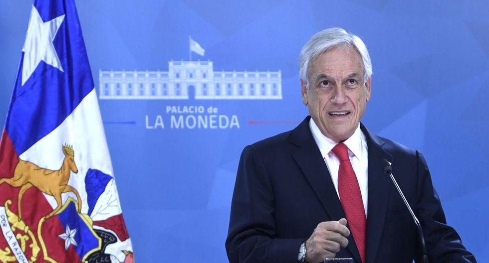 Presidente Piñera pide a todos sus ministros poner sus cargos a disposición. (Foto: AFP)