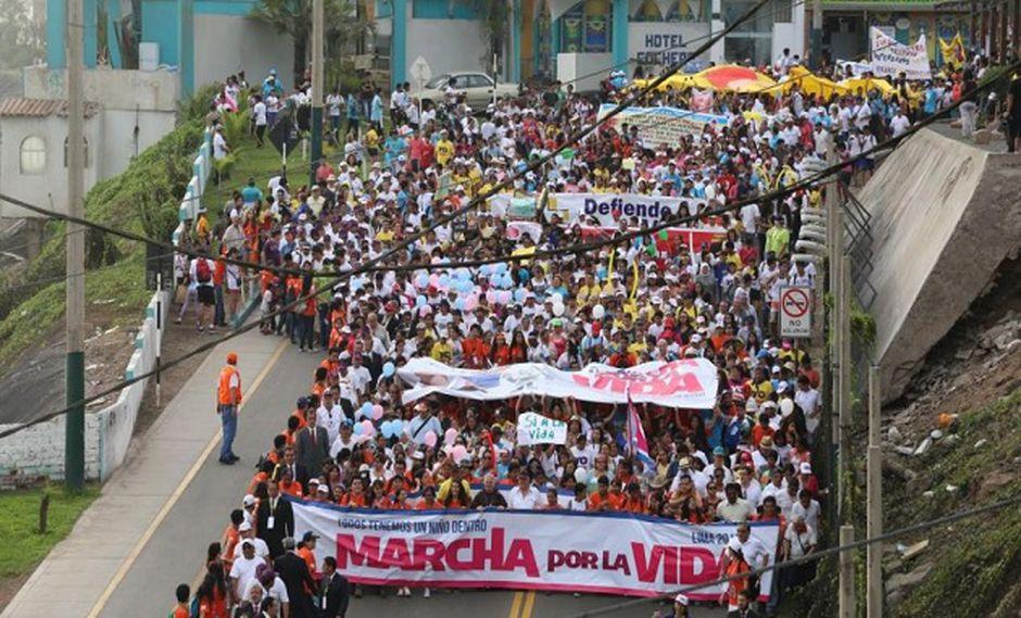 Según sus organizadores, en la Marcha por la Vida del 2016 participaron 750 mil personas (Foto: USI)