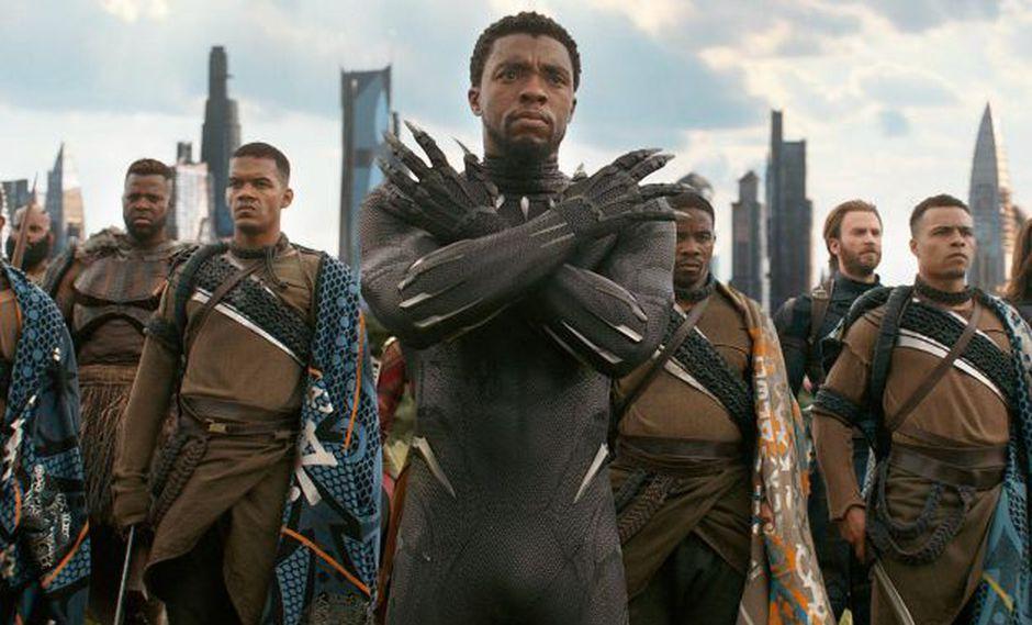 Las películas con personajes afroamericanos han aumentado, revela el estudio. (Marvel Studios)