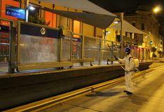Coronavirus en Perú: fumigan 7 estaciones del Metropolitano en Cercado de Lima