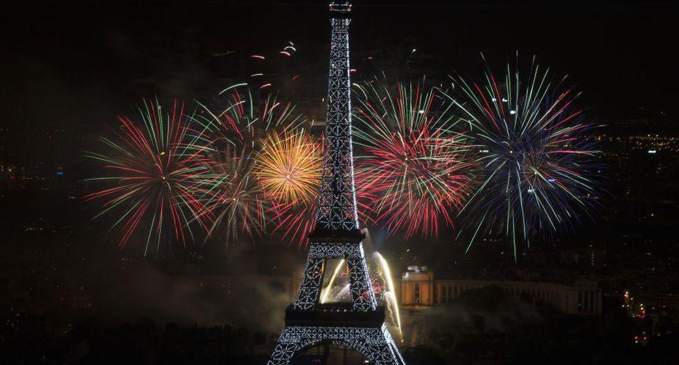 París celebra el aniversario de la  Fiesta de la Federación, en recuerdo de la Toma de la Bastilla (Foto: AFP)