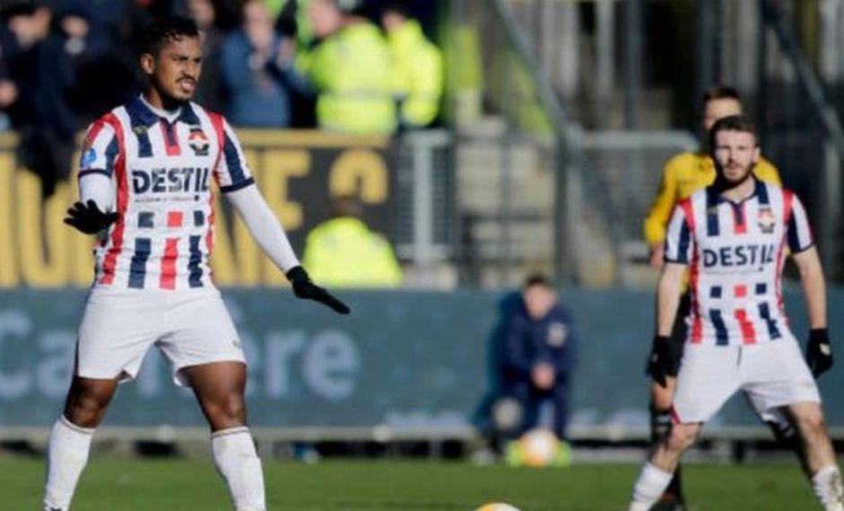 Renato Tapia sobre su debut con Willem II: 'Hemos disfrutado el juego'