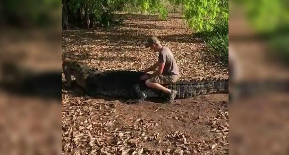 Escena fue captada en un conocido parque nacional de Australia. (Foto: Captura/Facebook)