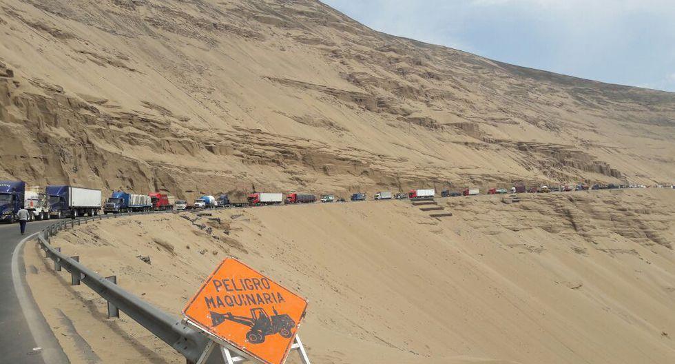 Serpentín de Pasamayo es la zona en donde se registró el mortal accidente que dejó 52 personas fallecidas. (Foto: GEC/Referencial)