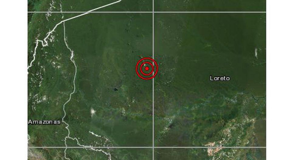 Un sismo de magnitud 5,2 se registró a las 06:02 p.m. del martes en la región Loreto. (Foto: IGP)