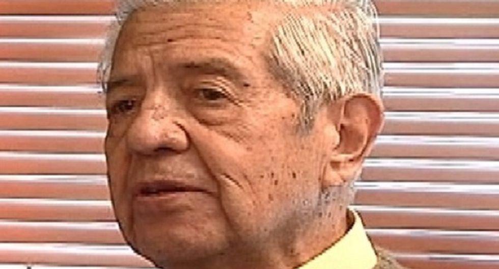 Contreras, de 89 años, está gravemente enfermo. (Foto: The Clinic)