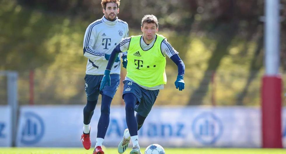 Bayern Munich volverá a entrenar desde este lunes. (Foto: @FCBayern)