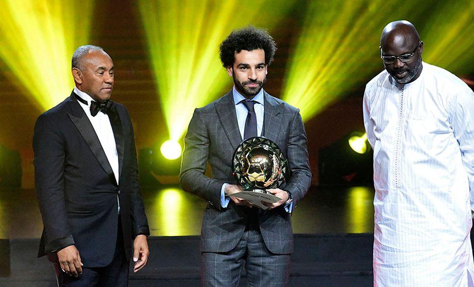Mohamed Salah repite y es elegido mejor jugador de África | FOTOS