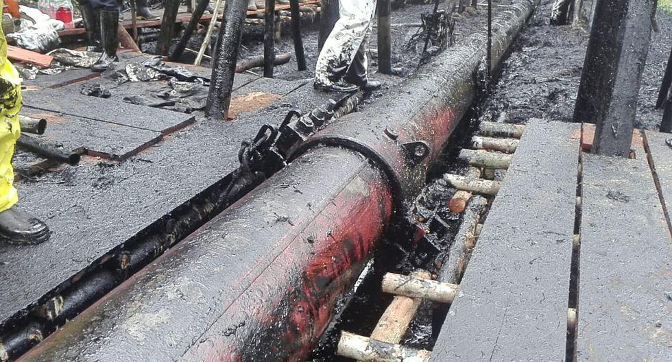 Fiscalía alertó que la fuga de crudo ponía en riesgo la salud de las poblaciones de las áreas cercanas. (Foto: Ministerio Público)
