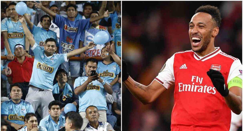 Arsenal saludó a Sporting Cristal por su aniversario. (Foto: GEC - AFP)